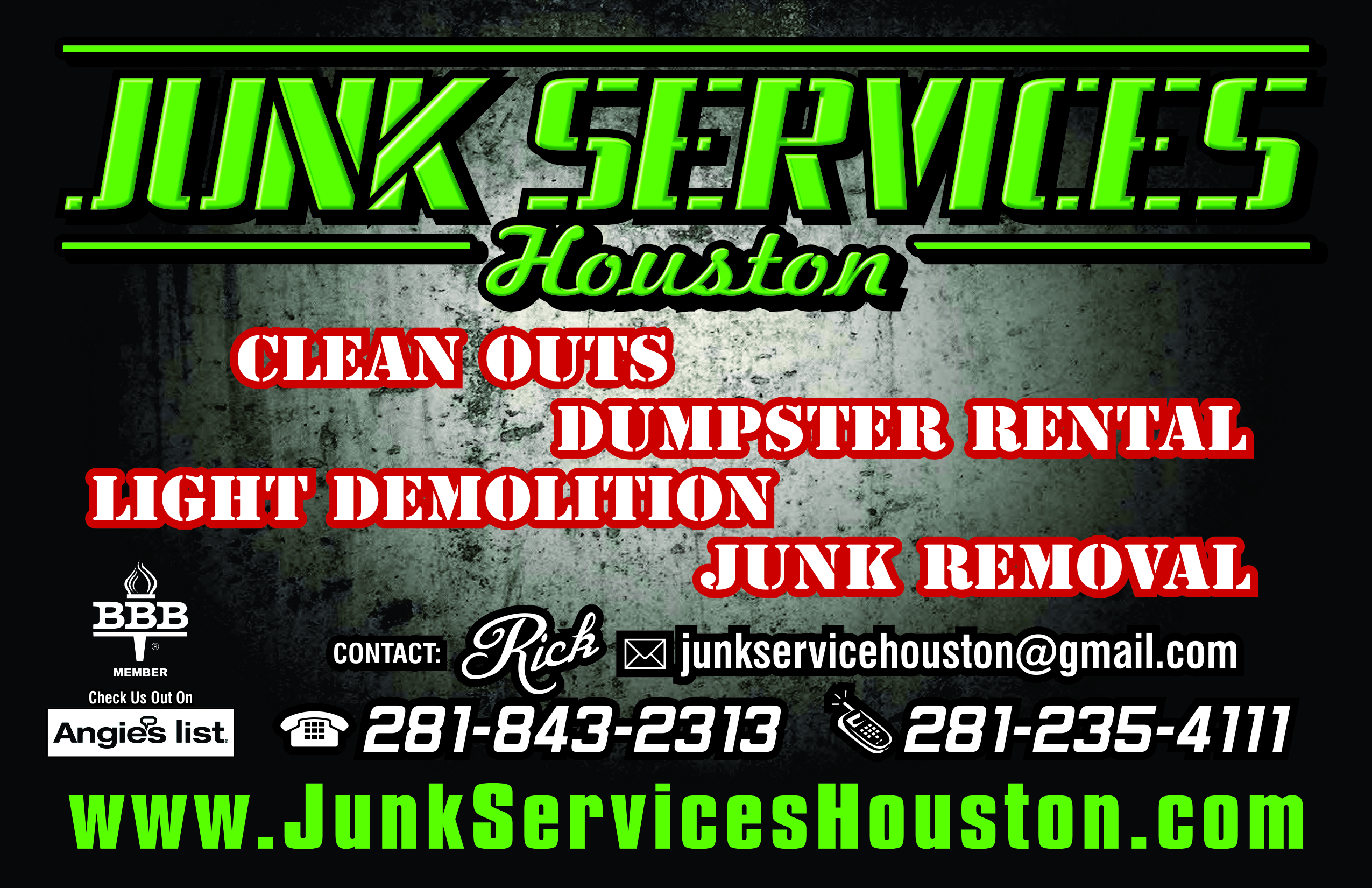 Image gallery junk removal flyers magicingreecefo Choice Image